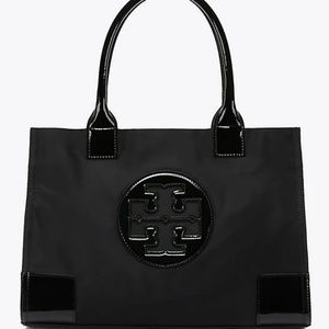 Authentic Tory Burch Medium Ella Nylon Tote